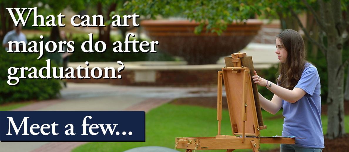 What can art majors do after graduation? Meet a few...