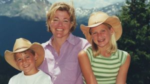 Susan Howorth with her kids