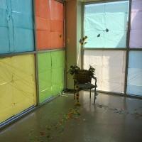 Elizabeth-Walts-sculpture-installation-for-beginning-sculpture-class