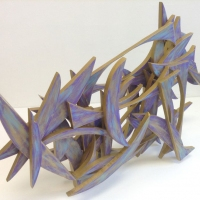Erin-McCains-dynamic-sculpture-made-out-of-one-8ft-whole-wood-2x4