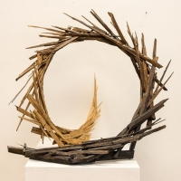 Maggie-Hayes-dynamic-sculpture-made-out-of-one-8ft-whole-wood-2x4