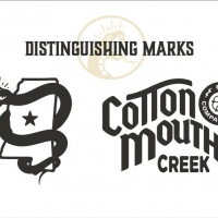 Three different logo designs with images of a cotton mouth.